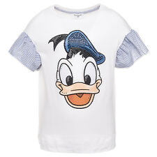 Monnalisa Camiseta Ric.paperino Talla 98,110, 116,122, 140 Donald Duck So18