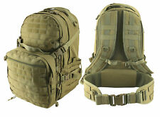 KOMBAT UK UNISEX RECON PACK 50 LITRE COYOTE 2 DAY MOLLE TACTICAL BACKPACK