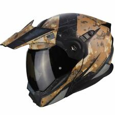 SCORPION adx-1 BATTAGLIA BANDIERA battleflage MODULARE ADVENTURE Casco da moto