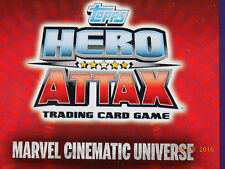 Topps Hero Attax Marvel Cinematic Universe  Holographic & Mirror Foil Cards