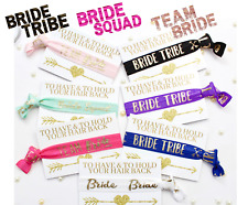 BRIDE TRIBE HAIR WRISTBAND /FAST SHIPPING 1stCLASS /HEN PARTY FAVOURS/TEAM BRIDE