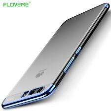 Ultra Thin Transparent Clear Color Plated Silicone Phone Case Cover For Huawei