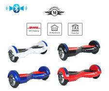 "8"" Bluetooth Gyropode Skate électrique Smart Overboard Self Balancing Scooter"
