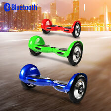 "10"" Bluetooth Gyropode Skate électrique Smart Overboard Self Balancing Scooter"