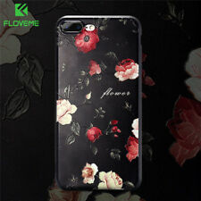 Cute 3D Floral Flower Rose Soft Silicon Back Phone Case Cover For iPhone 8 7 6 5