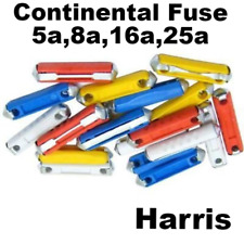 CONTINENTAL TORPEDO CERAMIC FUSES  CAR/AUTO5,8,16 & 25 AMPS qty 100
