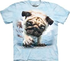 The Mountain Adult Underwater Dog Duncan Seth Casteel TShirt