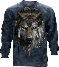 DJ Fen Adult Unisex Animal Longsleeve Top The Mountain