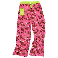 LazyOne Womens Don't Moose with Me Fitted PJ Trousers