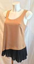 Top vestito abito donna cod.EI1EG012 KAOS Agata cammello Made in Italy