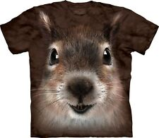 The Mountain Maglietta Squirrel Face Animal Adulto Unisex