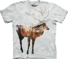 The Mountain Maglietta Unisex Adulto Snow Elk Animal