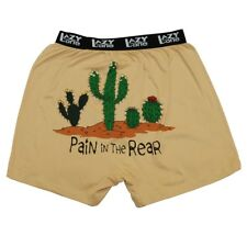 LazyOne Pain in the Rear Cactus Uomo Mutande Boxer
