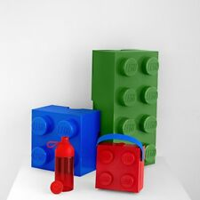 Giant Lego Storage Brick 8 Building Blocks Gift Kids Large Box Colours Red blue