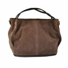 Pellevera borsa donna in pelle morbida scamosciata con manico woman leather hand