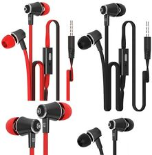 3.5mm In-Ear Stereo Earphone Headphone Earbuds W/ Mic For Cell Phone Universal