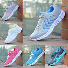 Womens Trainers Sneakers Absorbing Comfy Sports Gym Shoes Size Running Fitness
