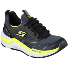 Skechers Boys Hyperjolt Lace Up Athletic Lightweight Trainer Shoes