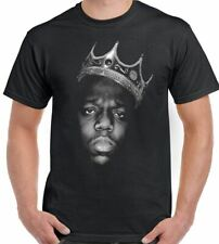 The Notorious Grande Biggie Piccoli T-Shirt Uomo Hip-Hop B. I. G.2Pac Tupac 2