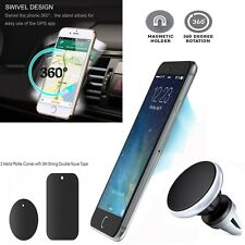 In Car Universal Magnetic Air Vent Phone Holder mount For Galaxy S9 S8 A8 Plus