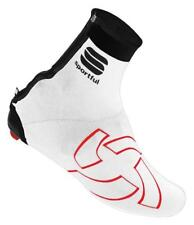 SPORTFUL Lycra white cycling shoecover copriscarpa bianchi ciclismo cod. 1100881