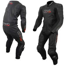 ARMR HARADA S ONE PIECE BLACK LEATHER MOTORCYCLE SPORTS BIKE RACE SUIT