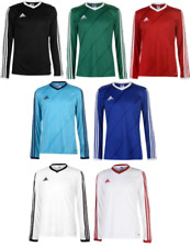ADIDAS MAILLOT FOOT Tee-shirt TSHIRT T MANCHES LONGUES HOMME FOOTBALL JERSEY 070