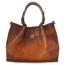 Pratesi borsa donna a mano e tracolla in pelle italian leather handbag shopping