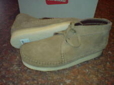 Clarks Mens ORIGINALES Wallabees DE PUNTO Botas Oakwood Ante Gb 7,9, 10g