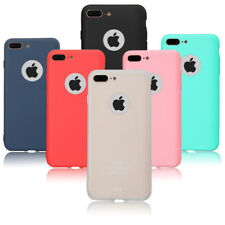Ultra Thin Silicone Candy Colour Back Phone Gel Case Cover For Samsung iPhone