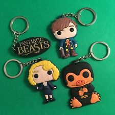 Fantastic Beasts / Harry Potter HP - Keyring Keychain Key Ring Chain Newt - NEW