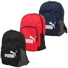 Puma Phase Backpack Rucksack Gym Sports Travel School Bag Mens Womens Boys Girls