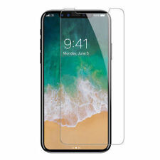 IPhone X Soft Silicon Premium Transparent Back Cover Case / Tempered Glass