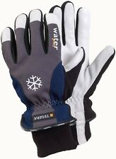 Leather Thermal Gardening Gloves wind and waterproof latex in stitching