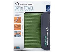 SEA TO SUMMIT DRYLITE TOWEL LIGHT WEIGHT COMPACT MICRO FIBER TRAVEL TOWEL