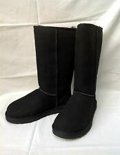 BNIB Authentic UGG Australia Black Classic Tall Boots (RRP £195) UK 7.5
