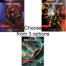 D&D 5th ed TOMB OF ANNIHILATION or CURSE OF STRAHD or PRINCES OF THE APOCALYPSE