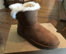 Ugg Australia Mini Bailey Bow II Boots BNIB Designer Womens Footwear Shoes