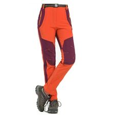 Hiking Pants Outdoor Softshell Trousers Waterproof Windproof Thermal for Campin