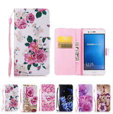FOR HUAWEI P8 P9 Lite 2017 P10 TPU Leather Cartoon Cover Case FLIP WALLET CASE