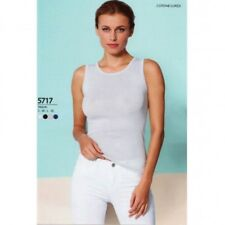 BASIC COTTON CANOTTA DONNA SPALLA LARGA 5717