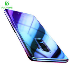 Ultra Thin Blue Ray Gradient Color Hard Back Phone Case Cover For Samsung Galaxy