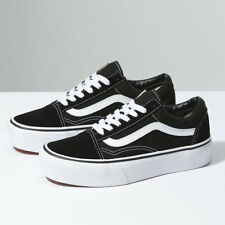 Vans Old Skool Trainers Platform - Classic Shoes - Black - BNIB