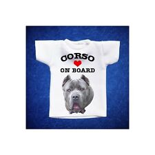 CORSO 1 MINI T-SHIRT DA AUTO STAMPATA IN QUALITÀ FOTOGRAFICA cane dog