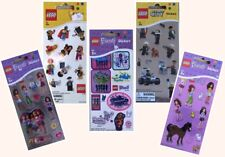 Lego 24 Stickers City Friends Pack Metallic Sparkly Activity Game Toy Creative
