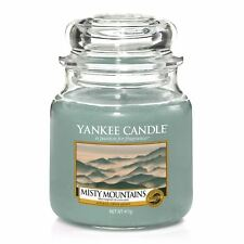 Yankee Candle - Montagnes brumeuses - Moyenne Jarre - gris