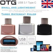 OTG Type C Charger Transfer Data Adapter USB Type-C Charger USB 3.1 Converter