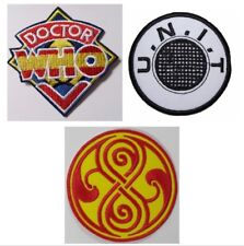 Doctor Who TV Series Logo Embroidered Patch NEW