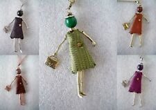 COLLANA LUNGA CIONDOLO FASHION DOLLS BIJOUX LONG NECKLACE