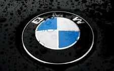 BMW Emblem Logo for Hood & Rear Trunk & Wheel Center Caps Replacement